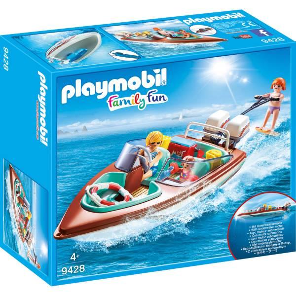 Конструктор Playmobil Промо: Катер с подводным мотором