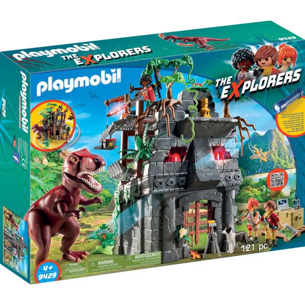 Конструктор Playmobil Динозавры: Затерянный храм с тиранозавром