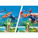 Конструктор Playmobil Динозавры: Вертолет для приключений с птеродактилем
