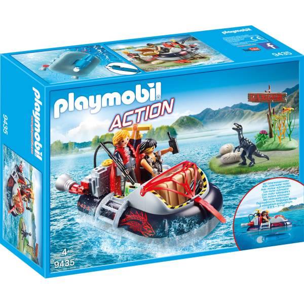 Конструктор Playmobil Промо: Дино на воздушной подушке с подводным двигателем