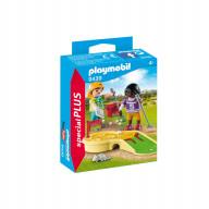 Конструктор Playmobil Экстра-набор: Играющие дети в минигольф