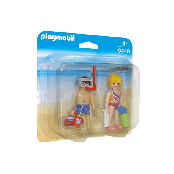 Конструктор Playmobil ДУО: Пляжники