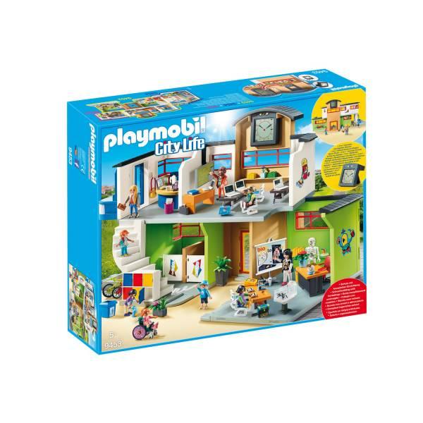 Конструктор Playmobil Школа: Меблированное Здание Школы