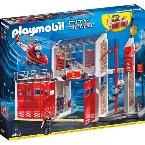 Конструктор Playmobil Пожарная служба: Пожарная станция