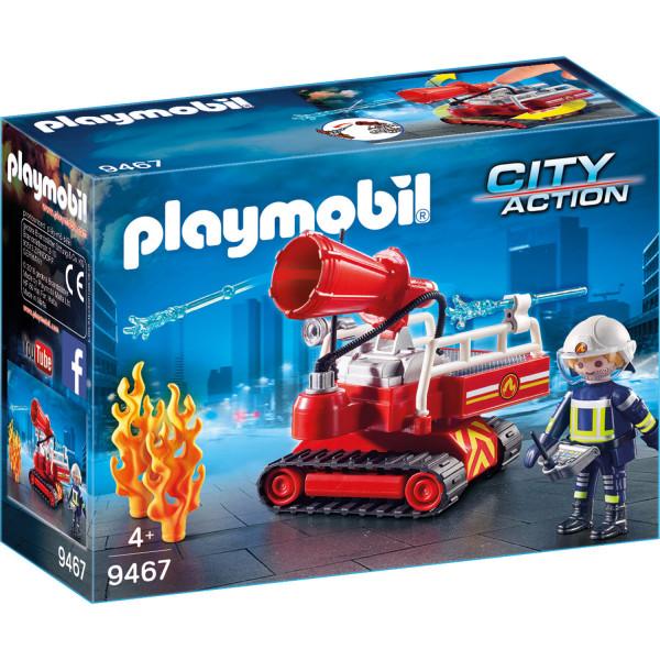 Конструктор Playmobil Пожарная служба: Огненная Водяная Пушка