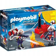 Конструктор Playmobil Пожарная служба: Пожарные с водяным насосом