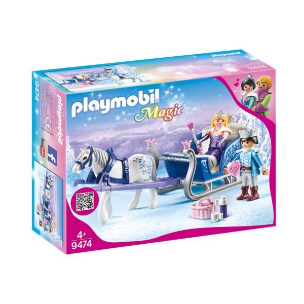Конструктор Playmobil Хрустальный дворец: Сани с королевской парой