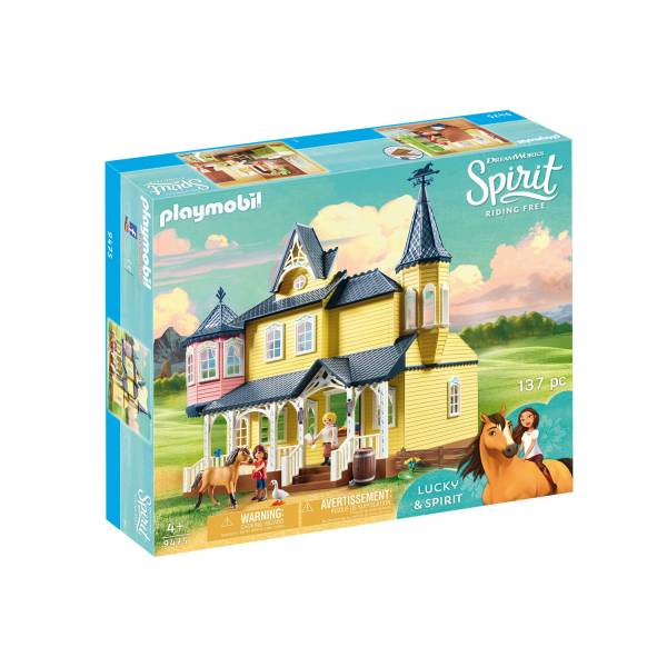 Конструктор Playmobil Spirit: Счастливый дом Лакки