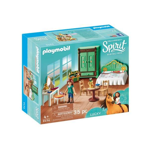 Конструктор Playmobil Spirit: Спальня Лакки