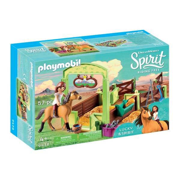 "Конструктор Playmobil Spirit: Конюшня ""Лакки и Спирит"""
