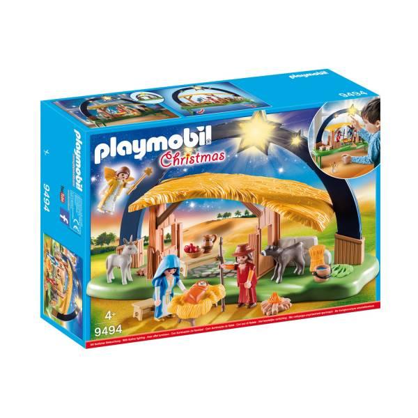 Конструктор Playmobil Рождество: Светящиеся ясли