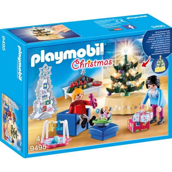 Конструктор Playmobil Рождество: Рождественская Гостиная