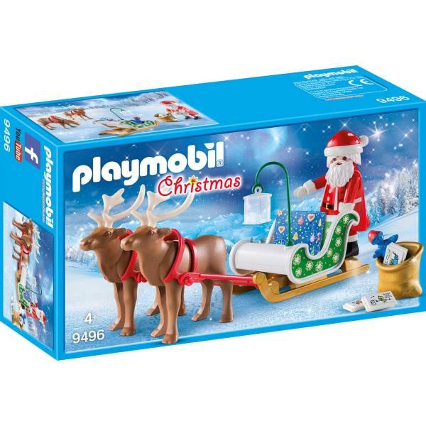Конструктор Playmobil Рождество: Сани Санты с оленями