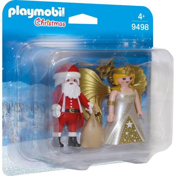 Конструктор Playmobil Рождество: Санта и Рождественский Ангел