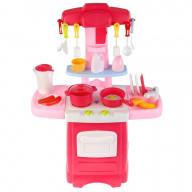 """Кухня Сказочный патруль на бат. вода, свет, звук,набор посуды и продуктов ТМ""""Играем вместе"""""""