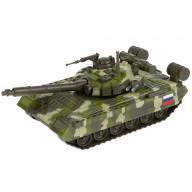 Машина танк Т-90, размер 25 см, вращая башня, открывающий люк Технопарк