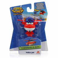 Мини-трансформер Super Wings Джетт (команда Полиции)