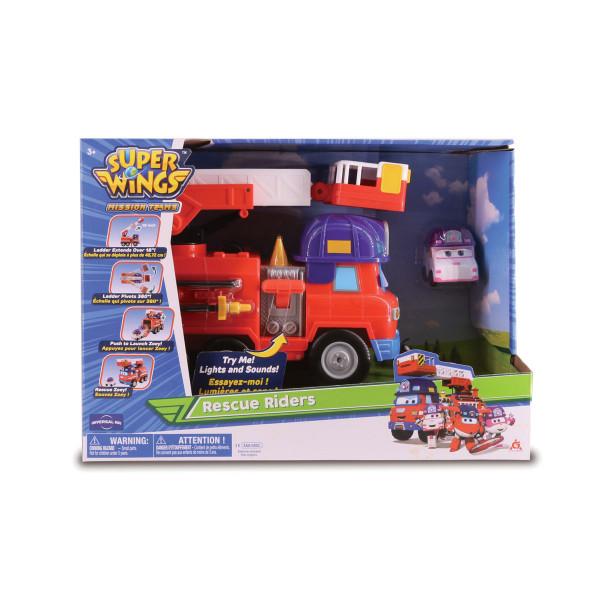 Набор Спасателей с машиной Спарки и трансформером Зоуи 9 см