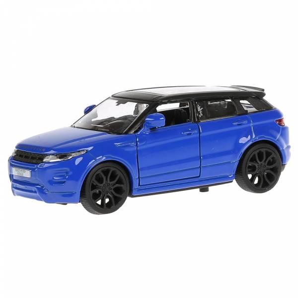 Машина металл LAND ROVER RANGE ROVER EVOQUE 12,5см,открыв. двери,инерц, синий Технопарк