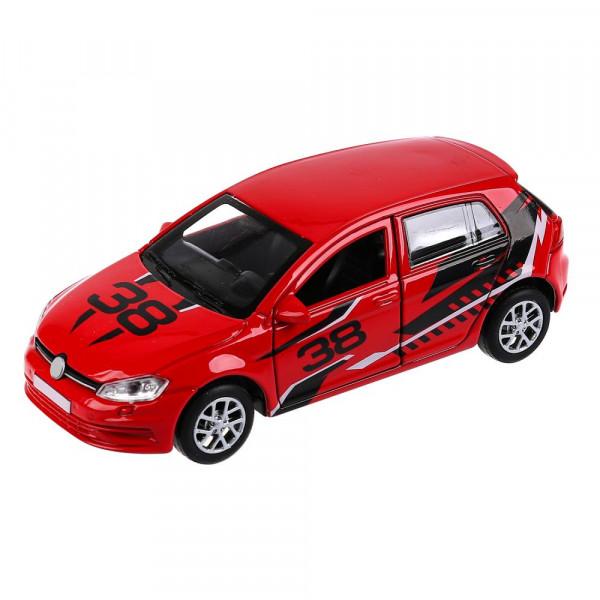 """Машина металл """"ХЭТЧБЕК"""", длина 12 см, открываются двери и багажник, инерционная, синий Технопарк"""