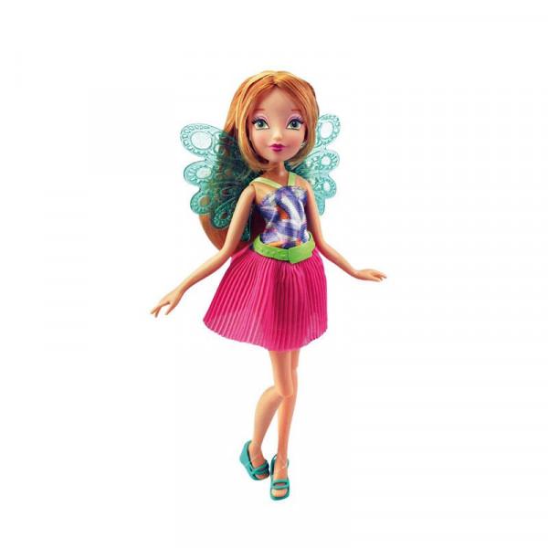 """Кукла Winx Club """"Волшебный питомец"""", Flora"""