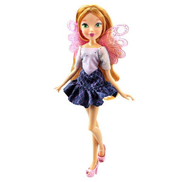 """Кукла Winx Club """"Два наряда"""", Флора"""