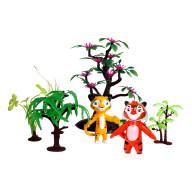 Игровой набор Лео и Тиг, 2 героя 7,5 см.+ аксесс-ры.