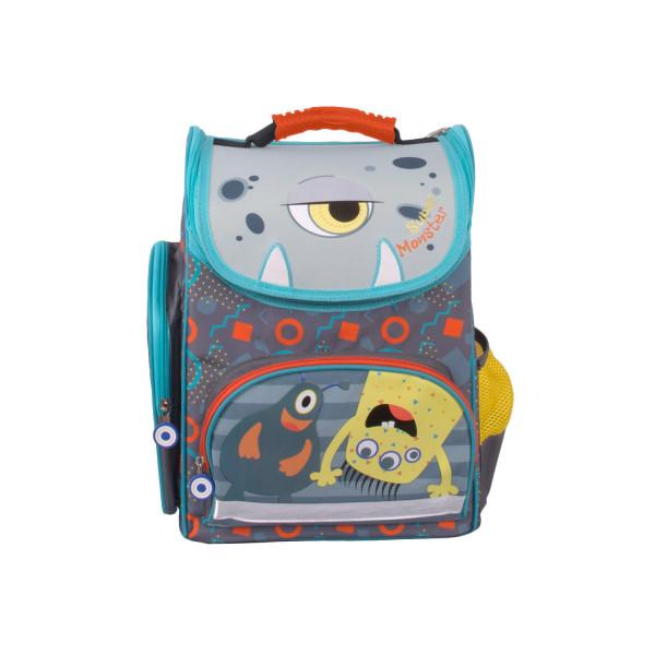 Школьный рюкзак Монстрик Гошик (серый)