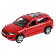 """ТМ Технопарк. Машина металл """"VW TOUAREG"""" 12см, открыв. двери, инерц, КРАСНЫЙ. в кор."""